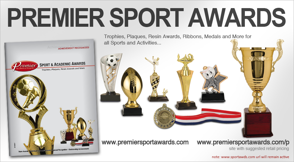PREMIER SPORT AWARDS WITH PRICING